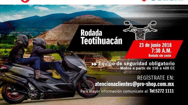 Rodada a Teotihuacán