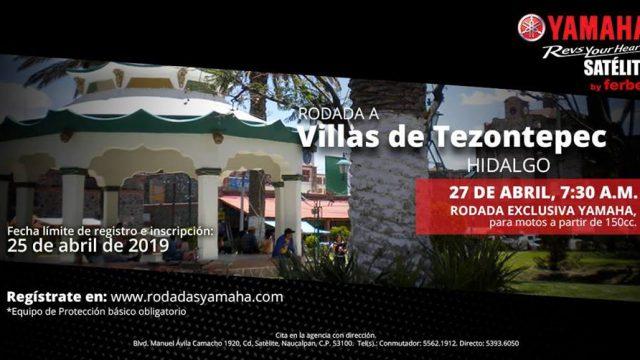 Rodada a Villas de Tezontepec