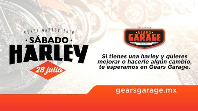 Sabado Harley – Mecánica Gears Garage