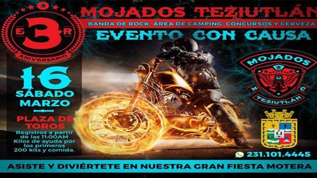 Tercer Aniversario de Mojados MC Teziutlan – Puebla
