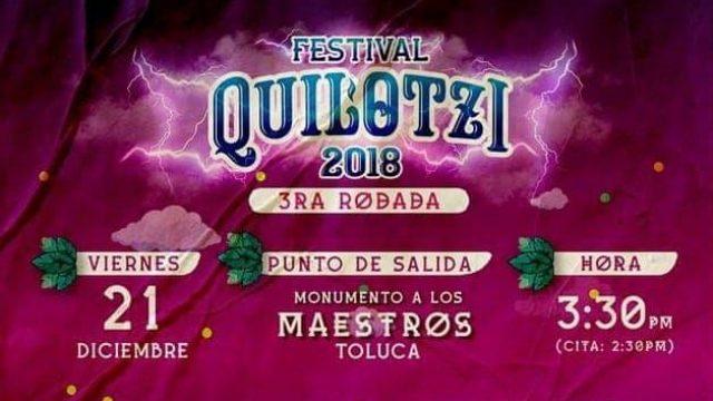 Tercer Rodada Motociclista Festival Quilotzi