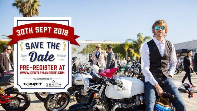 The Distinguished Gentleman´s Ride 2018