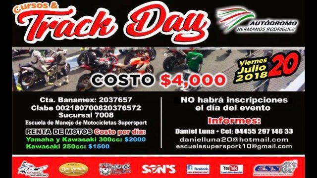 Track day AUTODROMO HERMANOS RODRIGUEZ