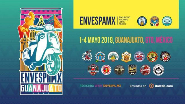 X Encuentro Nacional Vespa México, Guanajuato 2019