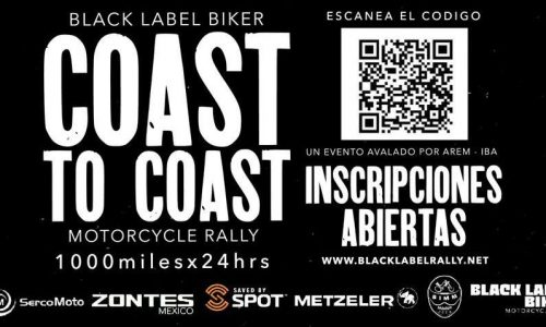 BLACK LABEL BIKER COAST TO COAST MOTORCYCLE RALLY 1000X24