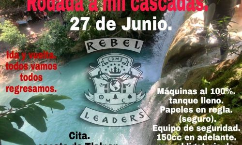 Rodada a Mil Cascadas (Taxco)