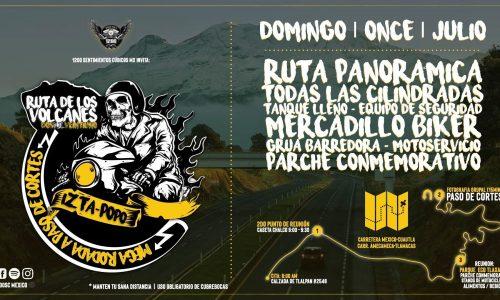 RUTA DE LOS VOLCANES | Rodada a Paso de Cortés