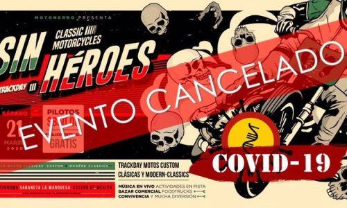 Sin Héroes Trackday para motos Clásicas y modern-classic III