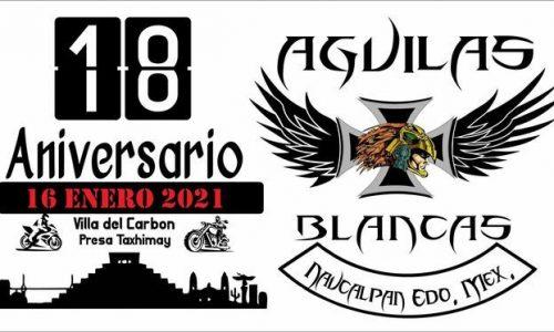 18 Aniversario Águilas Blancas Mc.