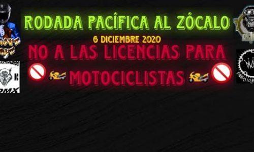 No A Las Licencias Para Motociclistas CDMX
