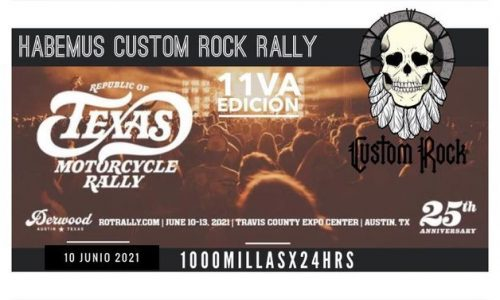 Custom Rock Rally 11va Ed. Austintx