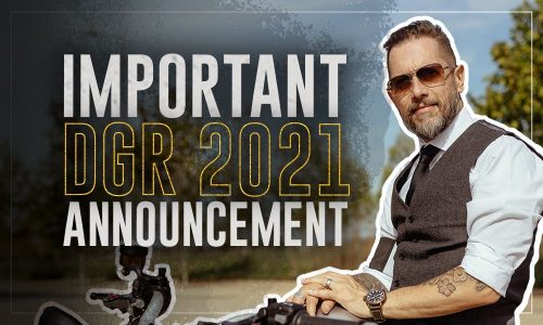 The Distinguished Gentleman's Ride 2021 - Mexico